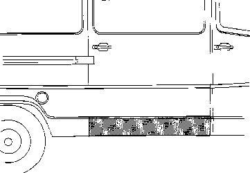 Panneau latéral - VAN WEZEL - 3070110