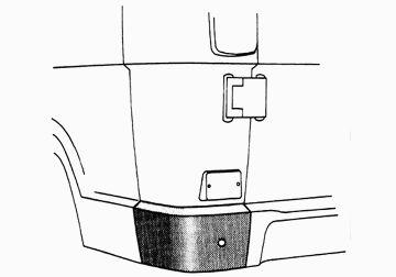 Panneau latéral - VAN WEZEL - 3070134