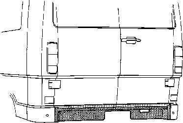 Panneau arrière - VAN WEZEL - 3070136