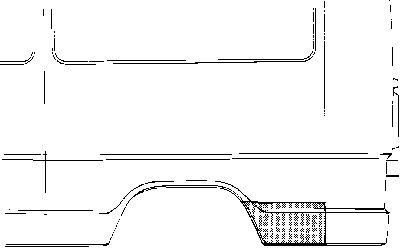 Panneau latéral - VAN WEZEL - 3070144