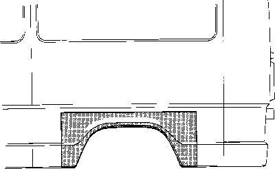 Panneau latéral - VAN WEZEL - 3070145
