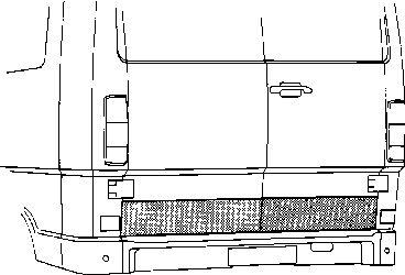 Porte arrière - VAN WEZEL - 3070149