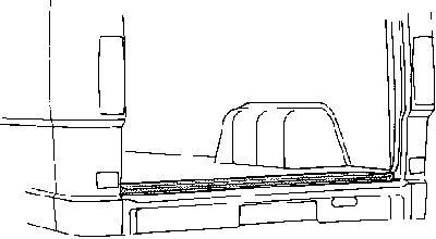 Plancher de carrosserie, coffre à bagages/de chargement - VAN WEZEL - 3070236