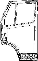 Porte, Carrosserie - VAN WEZEL - 3075271