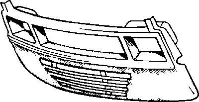 Revêtement avant - VAN WEZEL - 3070668