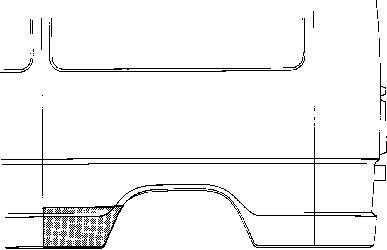 Panneau latéral - VAN WEZEL - 3072142