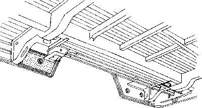 Plancher de carrosserie - VAN WEZEL - 3072343