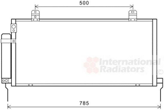 Condenseur, climatisation - VAN WEZEL - 32005221