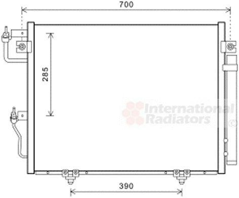 Condenseur, climatisation - VAN WEZEL - 32005231