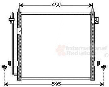 Condenseur, climatisation - VAN WEZEL - 32005239