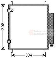 Condenseur, climatisation - VWA - 88VWA32005244