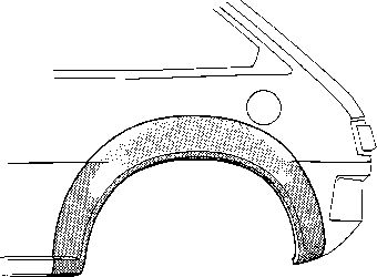 Panneau latéral - VAN WEZEL - 3205146