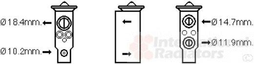 Détendeur, climatisation - VAN WEZEL - 33001389
