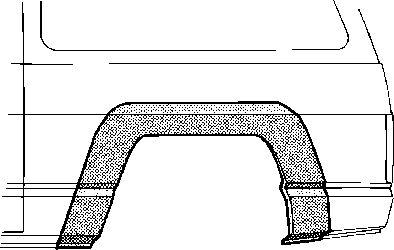 Panneau latéral - VWA - 88VWA3360146