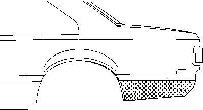 Panneau latéral - VAN WEZEL - 3710133
