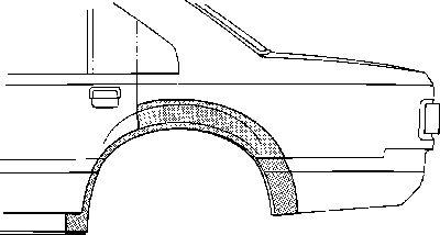 Panneau latéral - VWA - 88VWA3710148