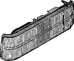 Feu arrière - VAN WEZEL - 3710922