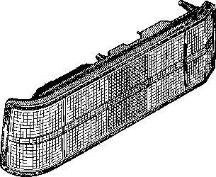 Feu arrière - VWA - 88VWA3710936