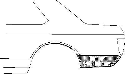 Panneau latéral - VWA - 88VWA3721.34