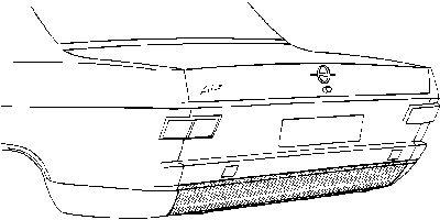 Panneau arrière - VWA - 88VWA3721.35