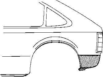 Panneau latéral - VWA - 88VWA3727133