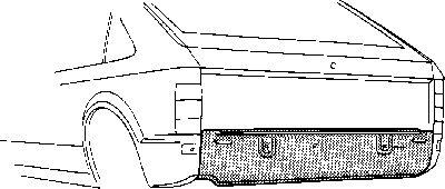 Panneau arrière - VWA - 88VWA3727140