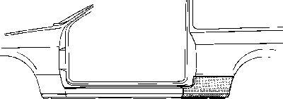 Panneau latéral - VAN WEZEL - 3727142