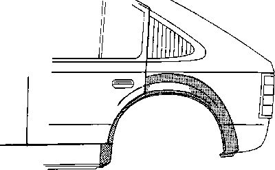 Panneau latéral - VAN WEZEL - 3314147