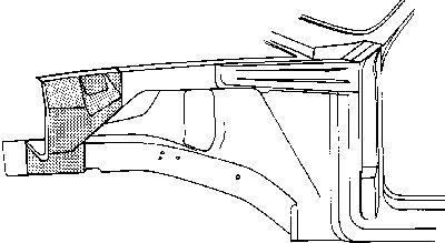 Doublure d'aile - VWA - 88VWA3727358