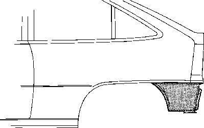 Panneau latéral - VAN WEZEL - 3731133