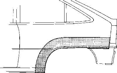 Panneau latéral - VAN WEZEL - 3730145