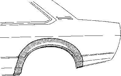 Panneau latéral - VWA - 88VWA3757146
