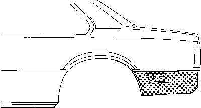 Panneau latéral - VAN WEZEL - 3760134