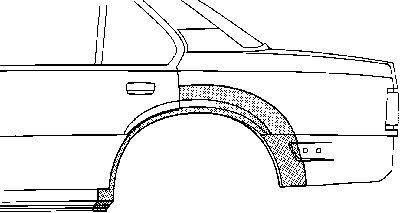 Panneau latéral - VAN WEZEL - 3760148