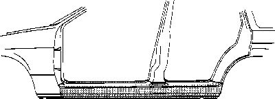 Marche-pied - VWA - 88VWA3763104