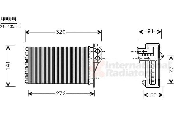 Système de chauffage - VAN WEZEL - 40006356