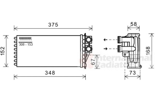 Système de chauffage - VAN WEZEL - 40006359