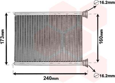 Système de chauffage - VAN WEZEL - 43006569
