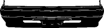 Pare-chocs - VAN WEZEL - 4902576