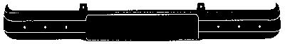 Pare-chocs - VAN WEZEL - 4912574