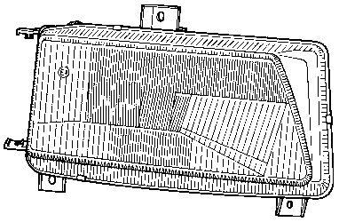 Projecteur principal - VAN WEZEL - 4912944V