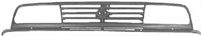 Grille de radiateur - VAN WEZEL - 5245510