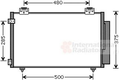Condenseur, climatisation - VWA - 88VWA53005487