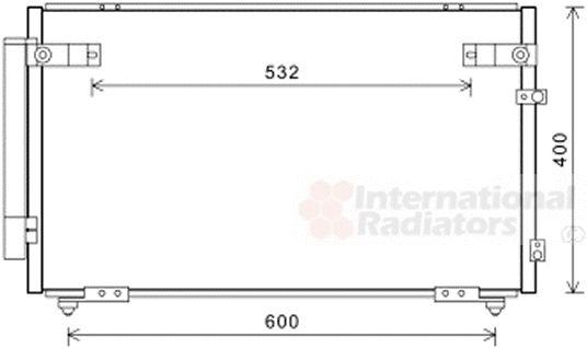 Condenseur, climatisation - VWA - 88VWA53005621