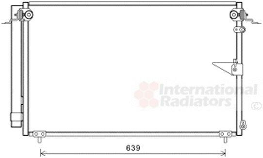 Condenseur, climatisation - VAN WEZEL - 53005654