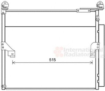 Condenseur, climatisation - VAN WEZEL - 53005655