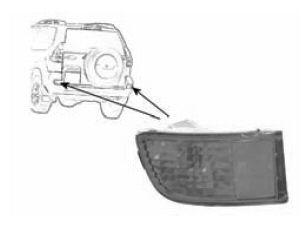 Feu antibrouillard arrière - VAN WEZEL - 5382929