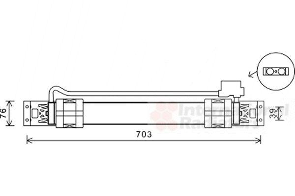 Radiateur d'huile - VAN WEZEL - 58003315