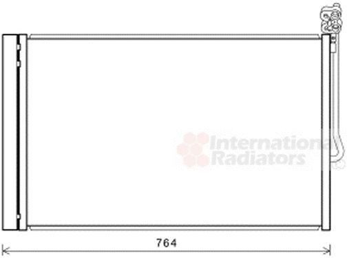 Condenseur, climatisation - VAN WEZEL - 58005334