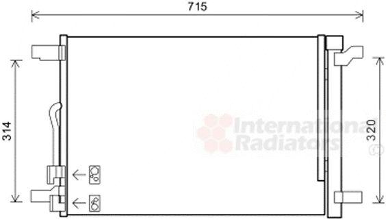 Condenseur, climatisation - VWA - 88VWA58005335